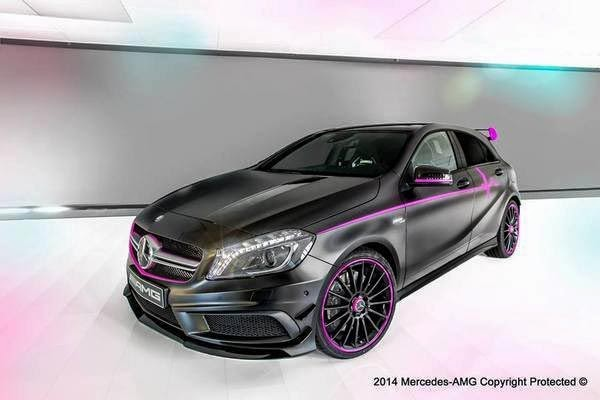 2014 Mercedes A45 AMG 'Erika' By AMG Performance Studio