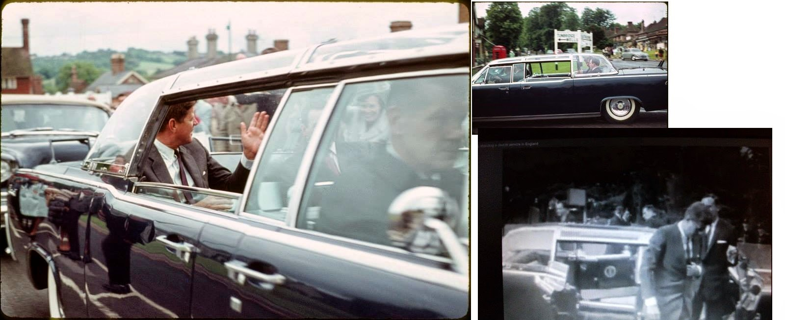 JFK bubbletop England 6/30/63