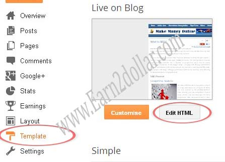 powered by blogger attribution remove