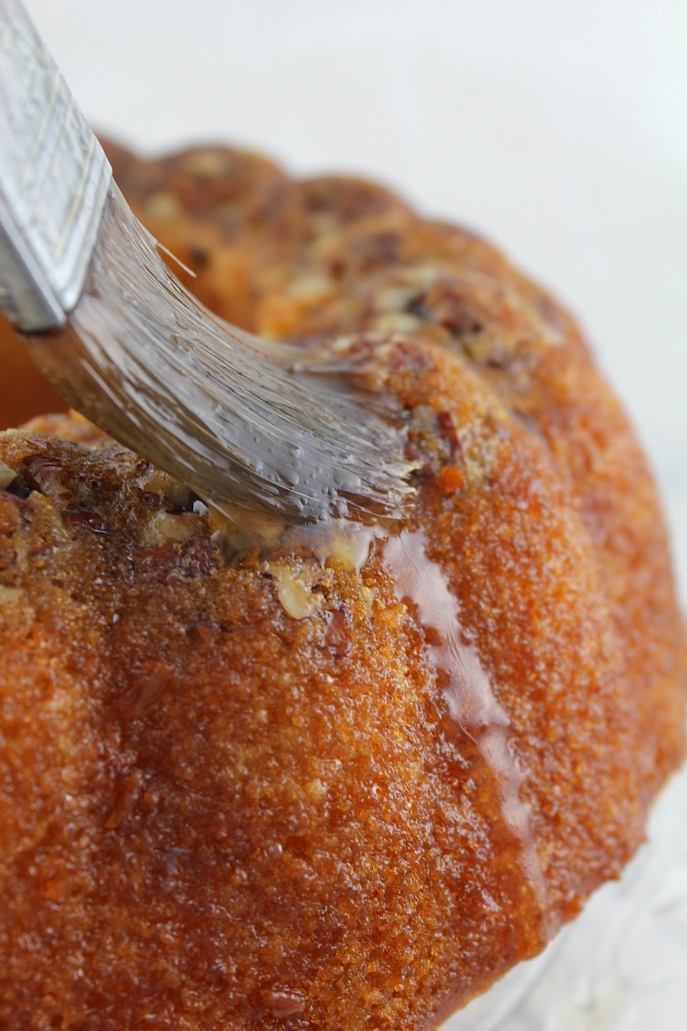 feast: Honey Whiskey Bundt Cake with Honey Whiskey Butter Glaze