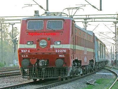 Rajdhani Express in Delhi