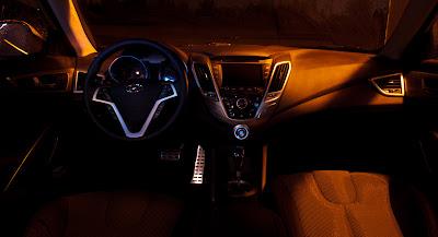 2012 Hyundai Veloster Tech Package Interior