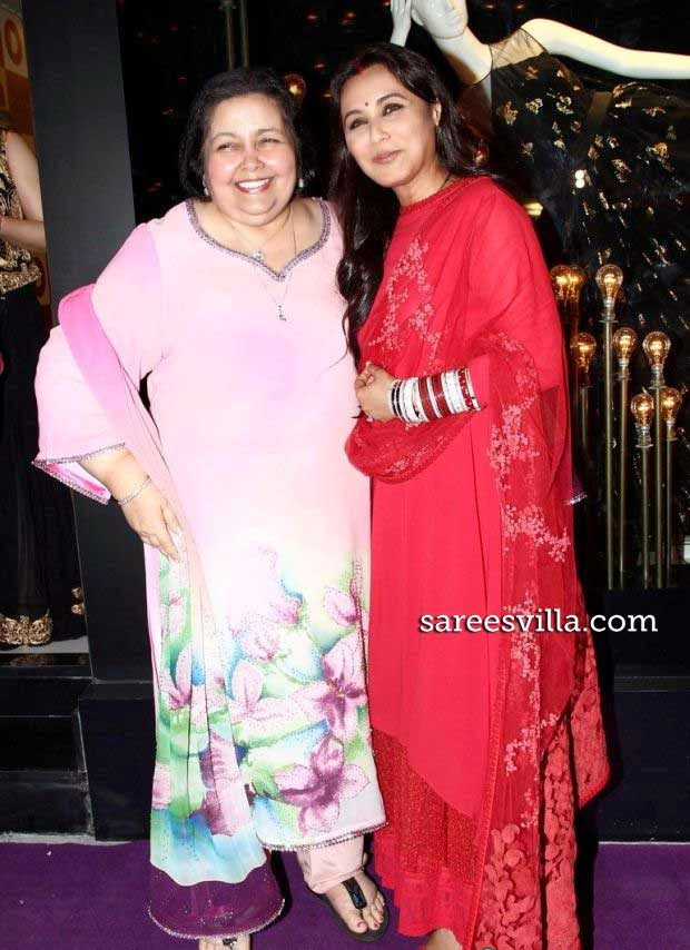 Rani Mukherjee at Diva'ni store launch