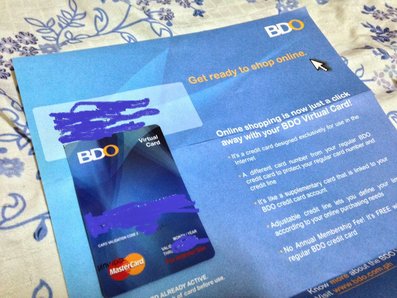 how to cancel bdo credit card