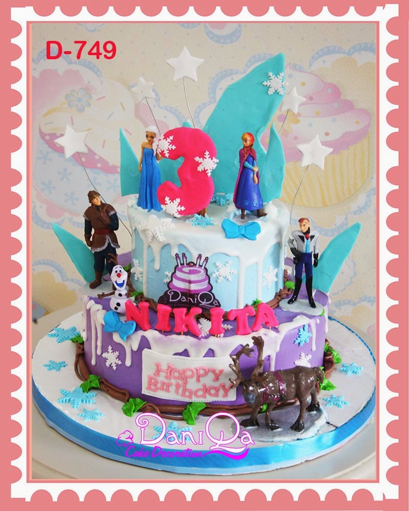 DaniQa Cake and Snack: Kue Ulang Tahun Disney frozen
