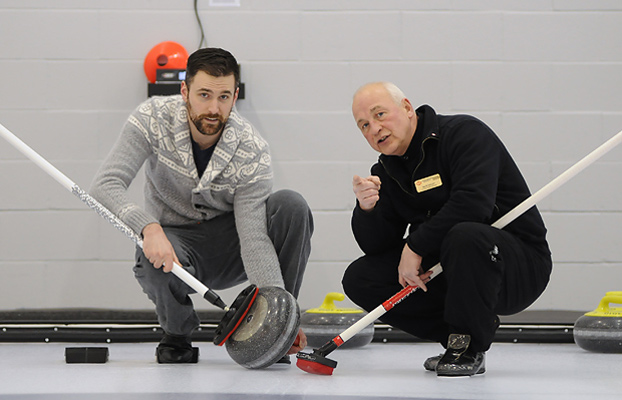 from Lawrence gay curling