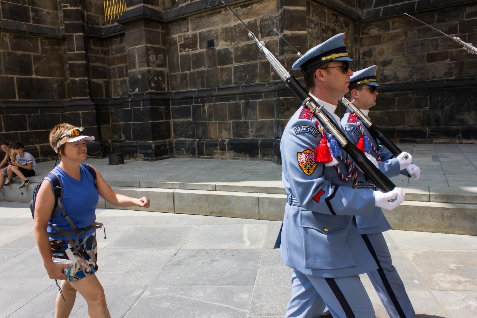 Прага, Чешская Республика, Пражский караул