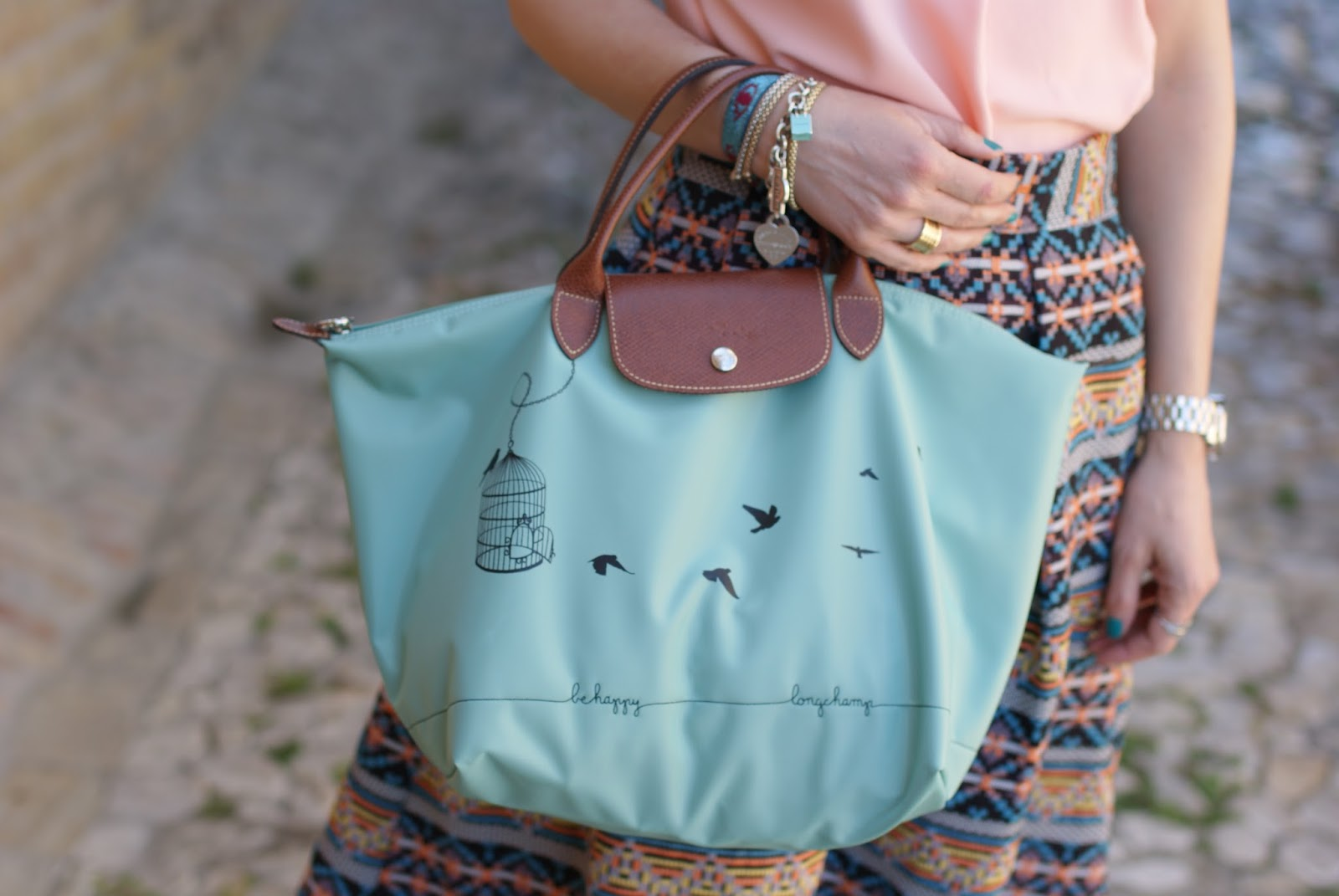 Longchamp Le Pliage la cage aux oiseaux bag, Fashion and Cookies, fashion blog, fashion blogger style