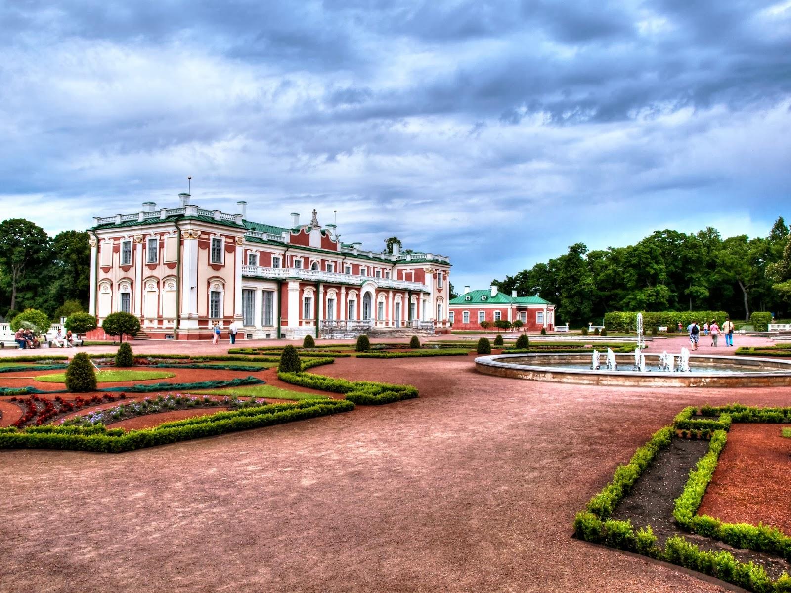 Таллиннский Парк Кадриорг - детище Петра