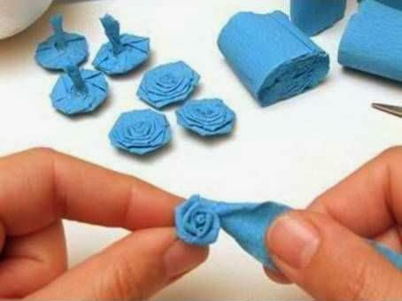Jenis Kerajinan Tangan Dari Kertas, Bola Bunga Kertas Krep 5