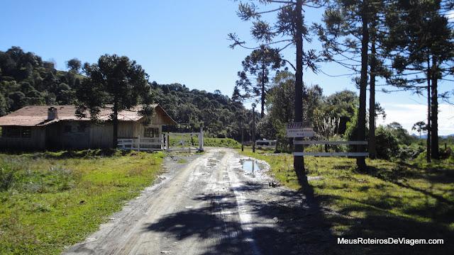 Acesso à Cascata do Avencal - Urubici / SC
