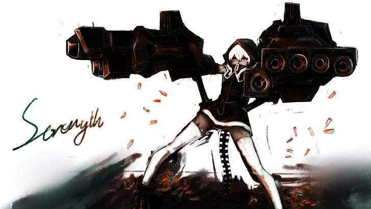 Strength Black Rock Shooter