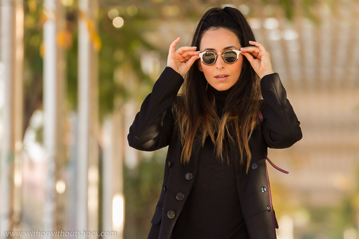 blogger de Valencia con las gafas de sol de moda mas estilosas
