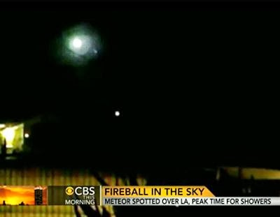 Fireball Streaks Across LA Skies 11-6-13