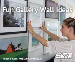fun gallery wall ideas