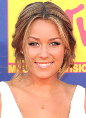 Lauren Conrad Dogeared. lauren conrad new hair color.