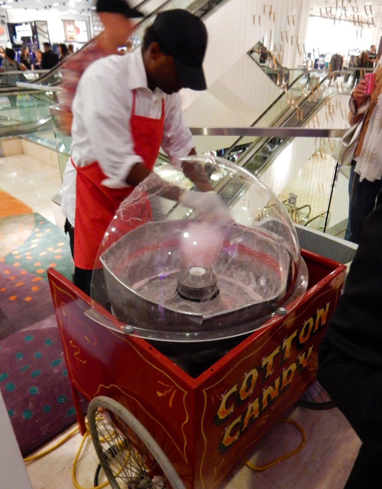 Fresh Cotton Candy Machine CUSP Party at Beverly Hills Neiman Marcus