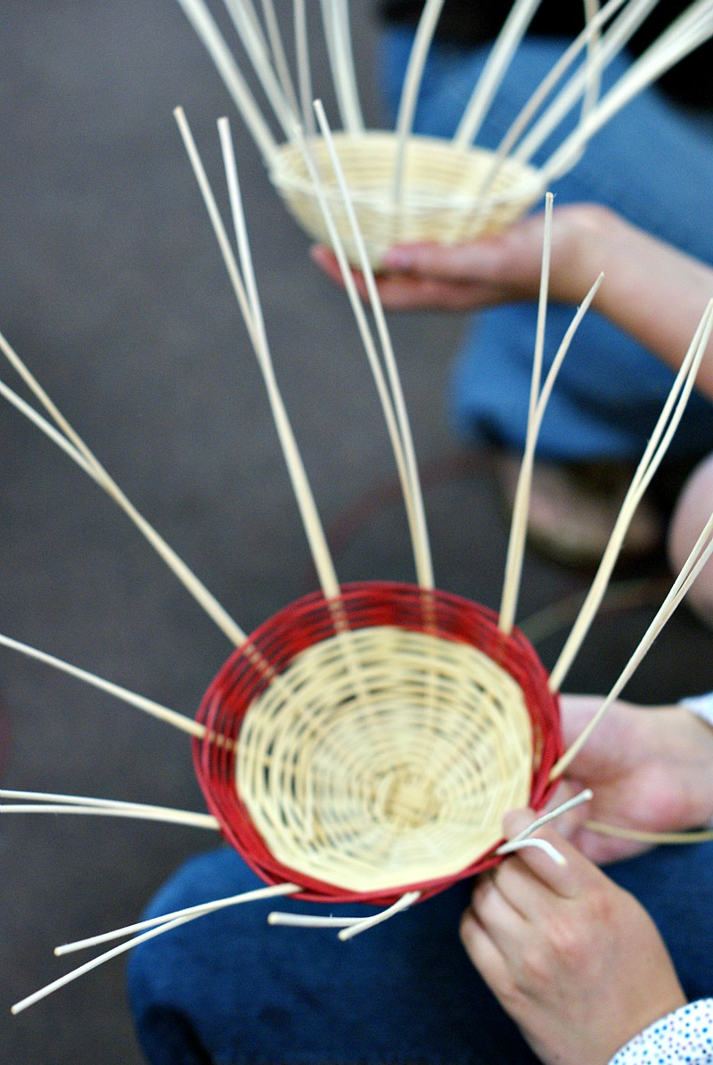 Basket Weaving For Elementary Students : Third grade basket weaving dimples and tangles