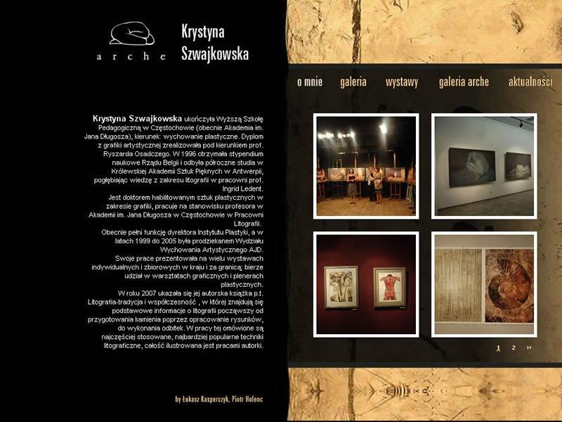 Litografia - Malarstwo - Grafika - Ceramika - Rysunek - Tkanina art - Biżuteria - Witraż