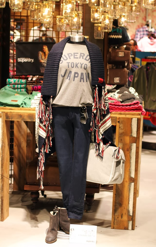 look Superdry A trendy life
