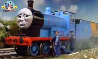 Thomas the tank engine Edward the train exploit day with the Pullman coaches