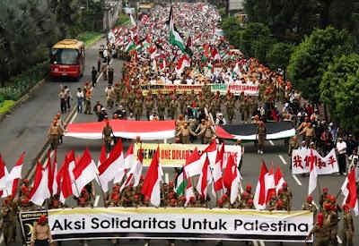 aksi solidaritas indonesia untuk palestina