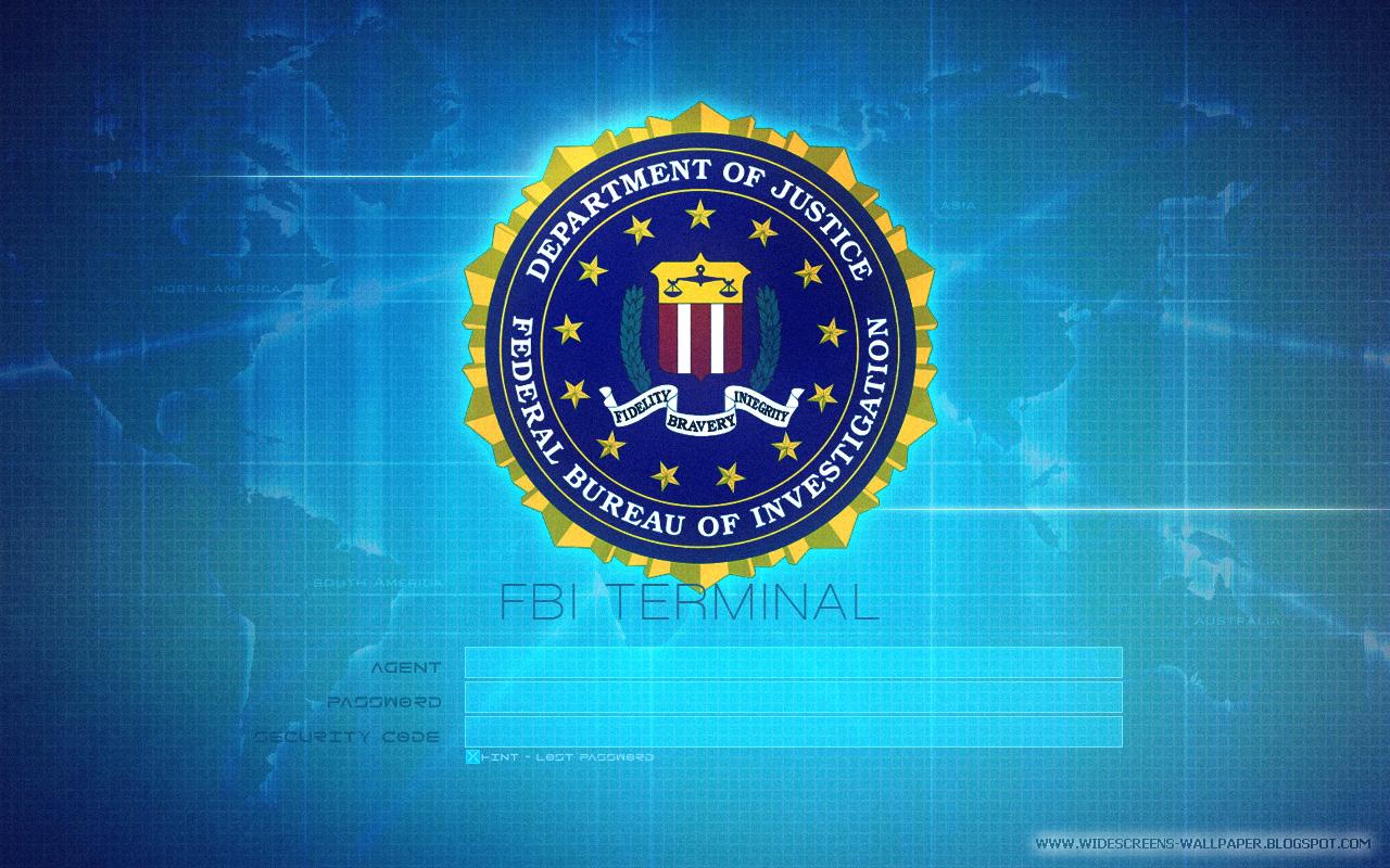 Federation Bureau Of Investigation - Departement Of Justice Login - FBI Terminal Wallpapers