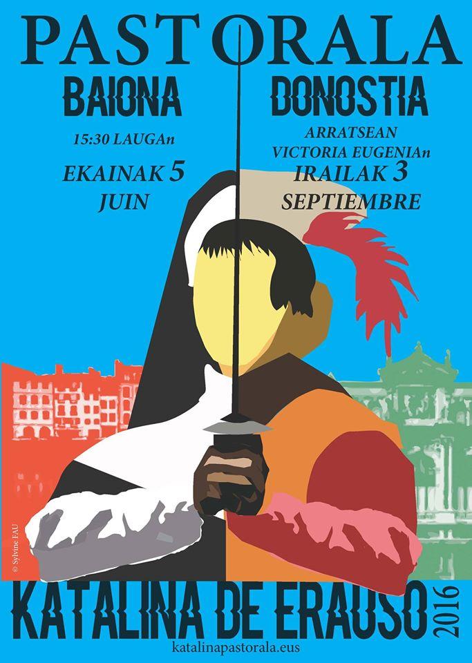 BAIONA ~ PASTORALA KATALINA DE ERAUSO  ~ DONOSTIA