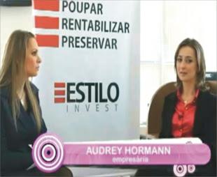 Audrey Hormann vencedora do prêmio SEBRAE 2012