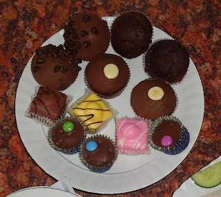 Cakes from An English Afternoon Tea