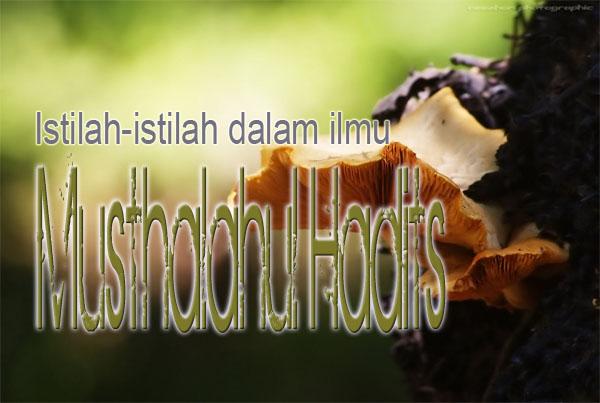 Istilah-istilah dalam ilmu Musthalah Hadits