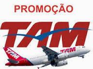 Passagens em promoção Tam 2014