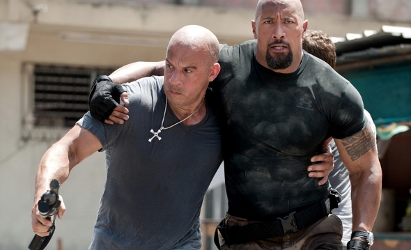 Vin Diesel  6 0 quot   220 lbs  and  quot The Rock quot  Dwayne Johnson  6 4 quot   265    Vin Diesel And Dwayne Johnson Height