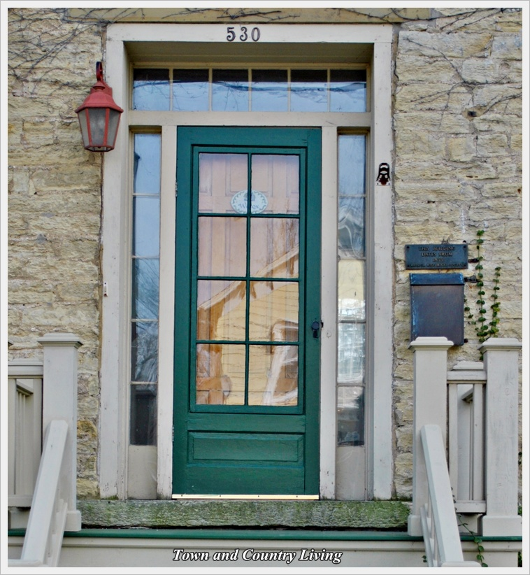Flirtatious front doors town country living for Country front doors