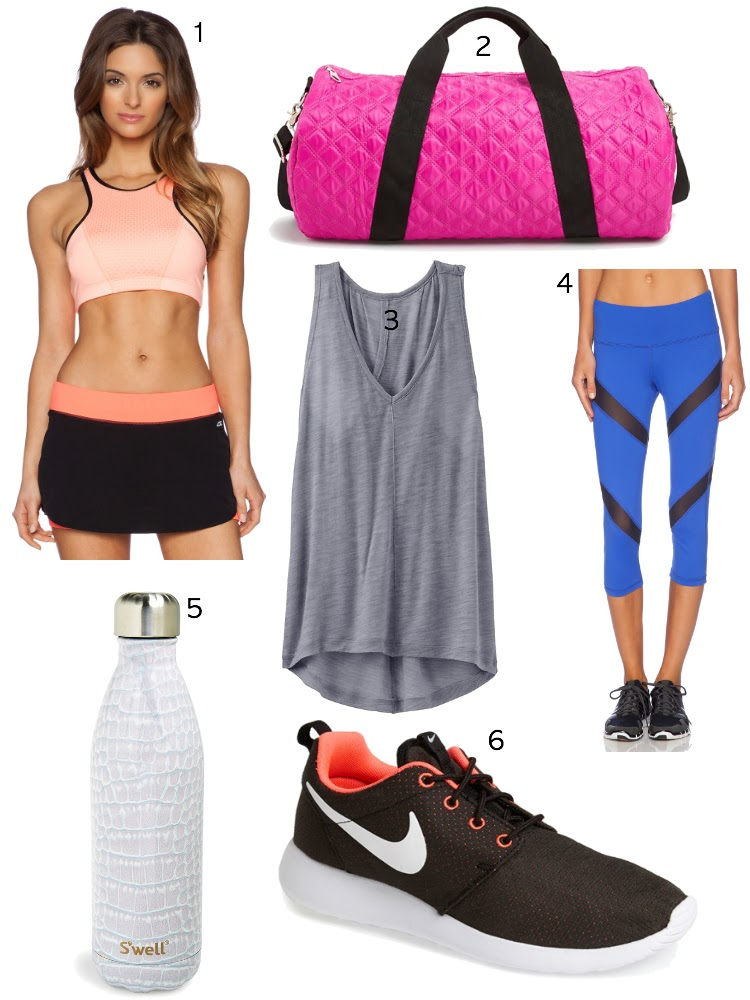 athletic wear for the gym