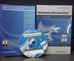 Buku Pemrograman Web Secara Visual dengan Delphi 7 dan Raudus