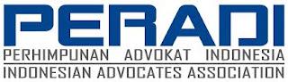 Advokat/Pengacara/Lawyer/Konsultan Hukum Anggota Organisasi Advokat Peradi NIA.: 98.10796