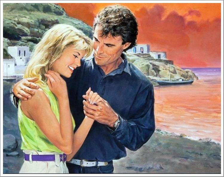 Romantic Paintings Of Couples - Romantic Couple Paintings