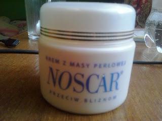 Krem z masy perłowej Noscar przeciw bliznom