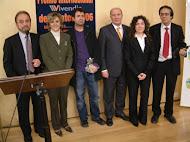 La entrega del Premio Vivendia de Relato