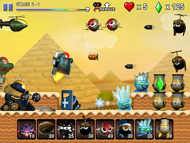 Download Game Mini Robots War img