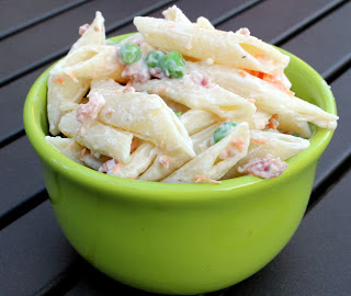Julie's Eats & Treats: Bacon Ranch Pasta Salad