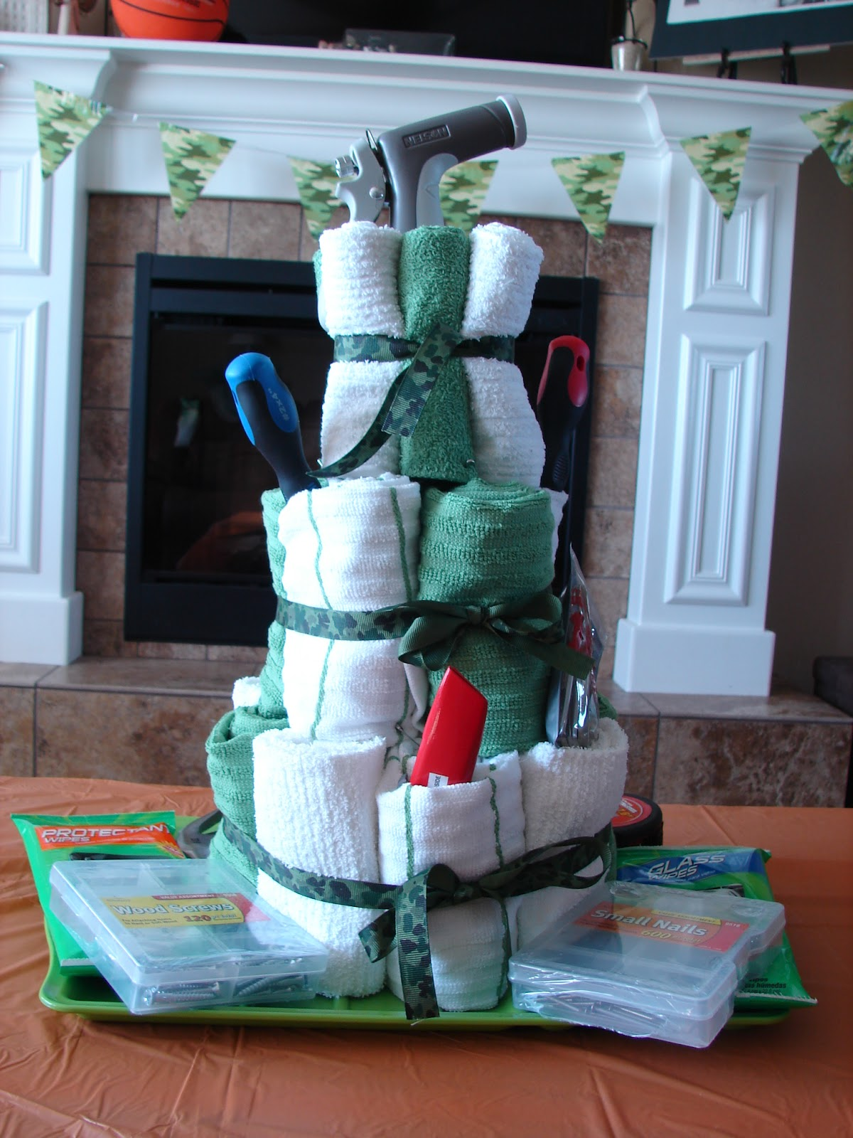 Camo And Orange Wedding Cakes Viewing Gallery
