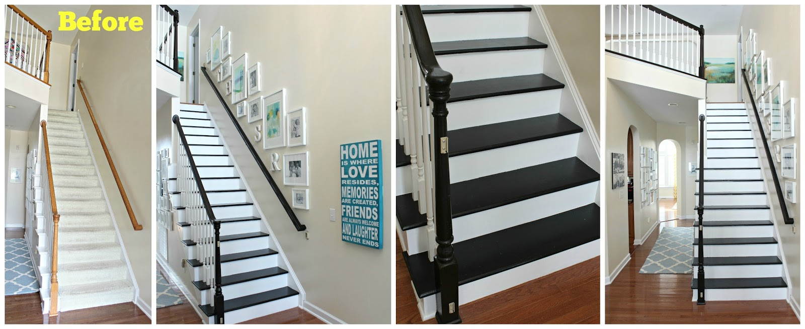 Etonnant Refinishing Our Stairs: Reveal!