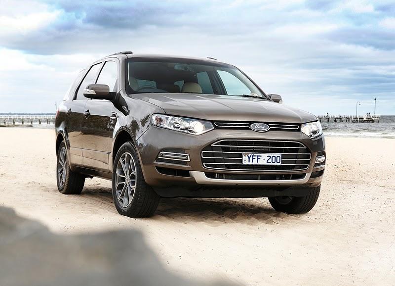 2012 Ford Territory Car World