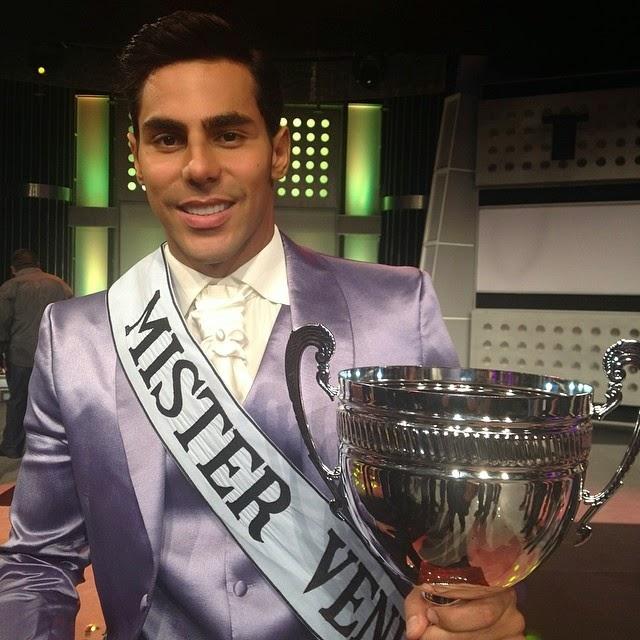 Jesus Antonio Casanova wins Mister Venezuela 2014