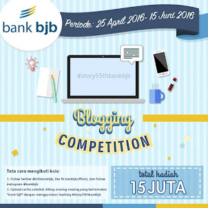 Blogging Competition Bank bjb