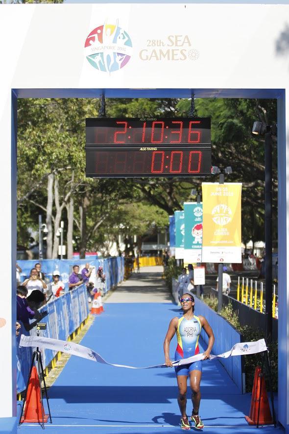 Claire Adorna SEA Games 2015 gold medalist