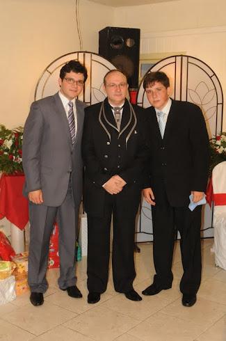 NOSSOS AMADOS FILHOS, DANIEL E MATHEUS...