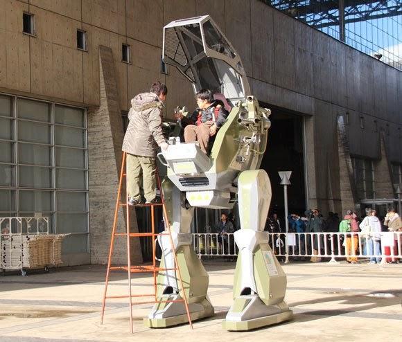 Perusahaan Jepang Membangun Robot Kendali Langsung